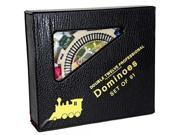 Dominoes Numbered, Double 12, Professional Mexican Train Set 9SIA17P62U5105