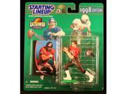 MIKE ALSTOTT / TAMPA BAY BUCCANEERS 1998 NFL * EXTENDED SERIES * Starting Lineup Action Figure & Exclusive NFL Collector Trading Card 9SIA17P6595768