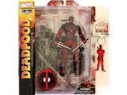 Diamond Select Toys Marvel Select: Deadpool Action Figure Bundle includes Deadpool PVC Keyring 9SIA17P6595756