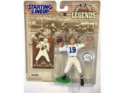 Johnny Unitas Action Figure - 1999 Starting Lineup Hall of Fame Legends NFL Football Sports Collectible by Hasbro 9SIA17P6595501