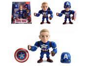 Jada Metals Die Cast 6 Inch Action Figure Captain America Civil War M56 9SIA17P6595864