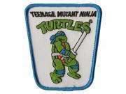 Teenage Mutant Ninja Turtle Action Figure Iron on Patch (Leonardo) 9SIV1976T43377