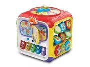 VTech Ages Sort & Discover Activity Cube Features 75+ Songs, Sounds Music Toys 9 Months to 3 Years 9SIAD245A02149
