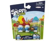 SMURFS 2 Micro Figure 3 Pack: Clumsy, Vanity & Miner 9SIA17P6CB5533