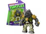 Playmates Year 2014 Nickelodeon Teenage Mutant Ninja Turtles 5 Inch Tall Action Figure : Rock-Headed Rhino ROCKSTEADY with Hammer and Sickle 9SIV1976SN2914