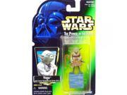 Star Wars Power of the Force Yoda Red Card Action Figure 9SIA17P6M72270