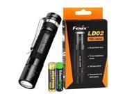 Fenix LD02 100 Lumen Cree LED tactical keychain Flashlight with EdisonBright AAA battery bundle 9SIV19771F4518