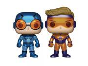 Funko Pop! Heroes: DC Heroes Booster Gold & Blue Beetle (Metallic Versions) Vinyl Figure 2-Pack 9SIA17P6YN4694