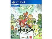 ps4 wonder boy the dragon's trap asian ver chinese english japanese subs