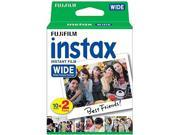 Fujifilm 16026642 Instax Wide Film Twin Pack (Multi)