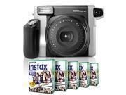 Fuji Fujifilm Instax Wide 300 Instant Photo Film Picture Camera + Wide 100 Film