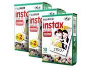 Fujifilm Instax Mini 50 Film for Fuji 7s 8 25 50s 90 300 Instant Camera, Share SP-1 White