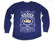 LSU Tigers Southern Pride Oversized Long Sleeve T-shirt-small