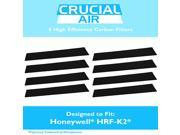 8 High Efficiency Replacement Honeywell Carbon Filters Fit FD-070, HFD-120, HFD-12-Q, HFD-12-TGT, HFD-123-HD, HFD300, HFD310, HFD314, HFD320, HFD323-TGT & HFD32 9SIA1832YX5674