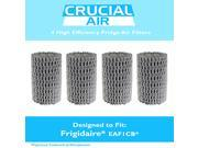 4 Frigidaire EAF1CB Pure Air Refrigerator Air Filters, Compare to Part # 24157500 9SIA1832YX0555