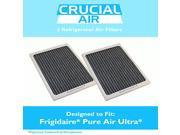 2 Frigidaire Pure Air Ultra Refrigerator Air Filters, Part # EAFCBF, PAULTRA, 242061001 & 241754001 9SIA1832YX0507