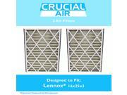 2 Lennox 16x25x3 Merv 8 Replacement Air Filters Fit X0581 9SIA18332A0795