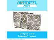 3 Lennox 16x25x3 Merv 8 Replacement Air Filters Fit X0581 9SIA18332A0796