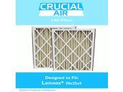 2 Lennox 20x25x5 Merv 8 Replacement Air Filters Fit X6673 9SIA18332A0780