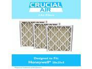 3 Honeywell FC100A1037 20x25x5 Merv 8 Replacement Air Filters Fit 20X25, 25X20, 25X22 F100, F200 & SpaceGard 2200 9SIA18332A0772