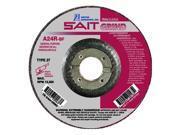 Sait 20063 A24R 4-1/2 X 1/4 X 7/8 Long Life Metal Grinding Wheel |Pkg.25