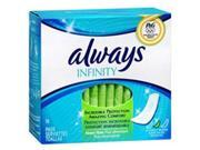 Always Infinity Pads without Wings Heavy Flow - 16 Ct.