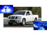 Nissan Titan 2004-2012 BLUE Interior LED Package (9 Pieces)