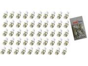 50x 194 168 2825 5-smd WARM WHITE High Power LED Car Lights Bulbs