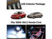 Honda CIVIC White Interior LED Package 2006-2012 (4 Pieces)