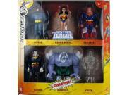 DC Super Heroes Justice League Unlimited Exclusive Action Figure 6-Pack (Superman, Wonder Woman, Batman, Bizarro, Doomsd 9SIA0KS55W9709