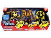 Transformers Exclusive Deluxe Action Figure 3-Pack Legacy of Bumblebee (Classic, Movie and Animated) 9SIAD245CY2911