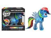 Funko My Little Pony: Rainbow Dash Vinyl Figure, Clear Glitter (SDCC Amazon Exclusive) 9SIAD245E08460