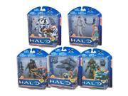McFarlane Toys Action Figure - Halo 10th Anniversary Series 2 - ( SET OF 5 ) 9SIAD245E05592