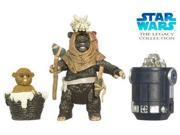 Star Wars The Leagacy Collection Ewoks Leektar and amp; Nippert Action Figure 9SIAD2459Y5644