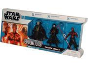 Star Wars 2008 The Legacy Collection Evolutions 3 Pack 4 Inch Tall Action Figure - The Sith Legacy with Darth Bane from 9SIV16A6766567