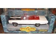 #7249 Ertl American Muscle 1969 Plymouth GTX,White 1/18 Scale Diecast