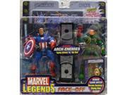 Marvel Legends Face Off Series 1 Variant Captain America vs. Red Skull Twin Pack Figure Set 9SIA17P5TH0556