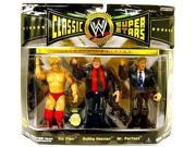 WWE Wrestling Classic Superstars Exclusive Champion Series Action Figure 3-Pack [Ric Flair, Bobby Heenan & Mr. Perfect] 9SIV16A6735676