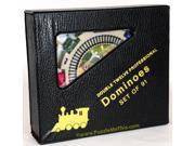 Dominoes Numbered, Double 12, Professional Mexican Train Set 9SIAD245CY2659