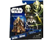 Star Wars 2010 Legacy of the Darkside Exclusive Action Figure 2Pack PreCyborg to General Grievous 9SIV16A6767975