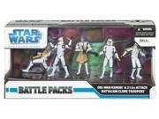 Star Wars Clone Wars Exclusive Action Figure Battle Pack Obi-Wan Kenobi and 212th Attack Battalion Clone Troopers 9SIAD2459Y5321