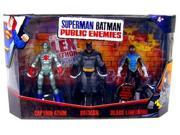 Mattel Superman Batman Public Enemies Mini Figure 3-Pack Captain Atom, Batman & Black Lightning 9SIV16A6731294