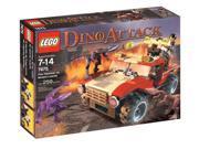 LEGO Dino Attack Fire Hammer vs. Mutant Lizard