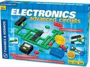 2 Item Bundle: Thames & Kosmos 615918 Electronics Advanced Science Experiment Kit with Coloring Book