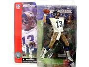 McFarlane Toys NFL Sports Picks Series 1 Action Figure Kurt Warner (St. Louis Rams) White Jersey Dirty Variant 9SIAD245CE7184