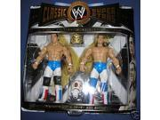 WWE British Bulldogs Jakks Classic Superstars Dynamite Kid & Davey Boy Smith with Matilda 9SIA17P5TH2552