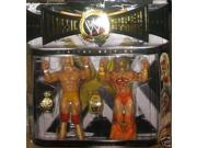 WWE Classic Superstars Ultimate Warrior Hulk Hogan 2 Pack Figures 9SIAD245E09958