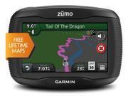 "Garmin Zumo 350LM 4.3"" Motorcycle GPS w/ Lifetime Map Updates"