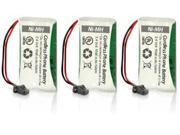 Uniden BT-1008 (3-Pack) Replacement Battery for Dect 6 0 2000 Series and DCX200