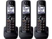 Panasonic KX-TGA660B 1.9GHz DECT 6.0 Extra Handset / Charger 3 Pack New